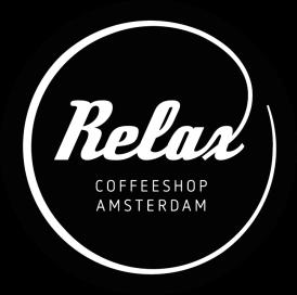 Coffeeshop Relax - Logo - Wit op zwart-01